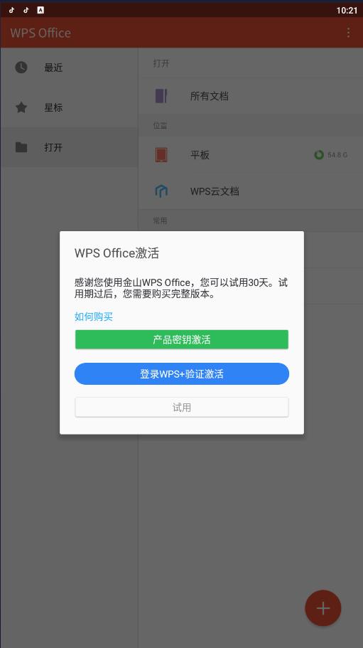 WPS Office Pro 央企定制版 会员功能可用