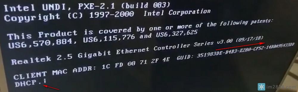 客户机升级2.5G独立网卡后DHCP…很慢需要10到15秒才可以获取到IP的问题